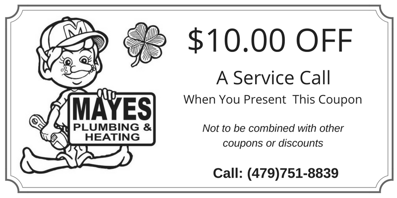 Plumbing and Heating Service Discount Coupon